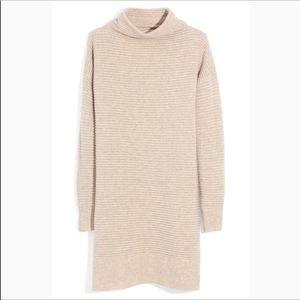 NWT Madewell Skyscraper Sweater Dress Size XS